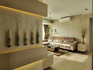 Living room by Karyam Designs, Minimalist