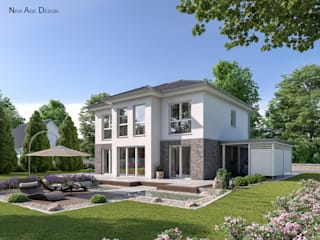 Modern Houses by New Age Design Modern