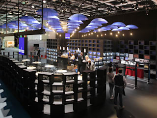 Exhibition centres by spek Design, Minimalist