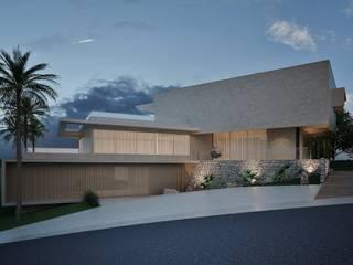 Residência Pedra Alta: Casas  por Marcos Baldasso Arquitetura