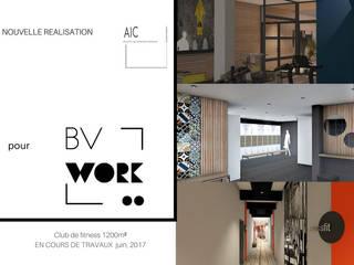 Galerías y espacios comerciales de estilo  por VALERIE BARTHE AiC