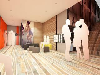 VALERIE BARTHE AiC Oficinas y tiendas de estilo moderno