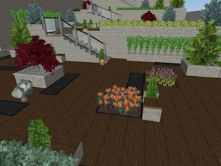 Modern garden by AYTÜL TEMİZ LANDSCAPE DESIGN Modern