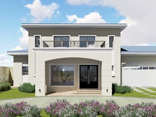 ARBOL Arquitectos Classic style houses Beige