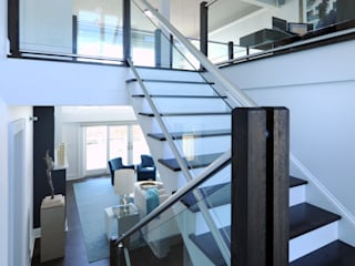 Modern Corridor, Hallway and Staircase by Olamar Interiors, LLC Modern