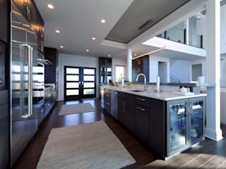 Contemporary Kitchen Olamar Interiors, LLC Modern Kitchen White
