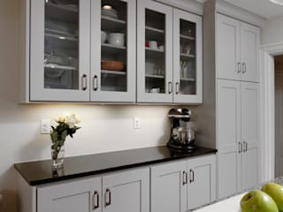 BOWA - Design Build Experts Cocinas de estilo minimalista Gris