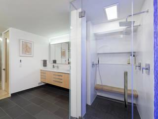 Contemporary Washington, DC Condominium Renovation Modern Bathroom by BOWA - Design Build Experts Modern