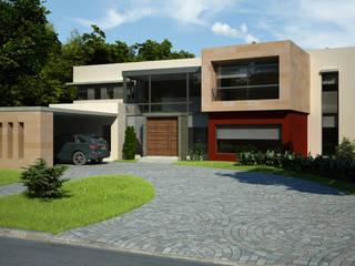 ミニマルな 家 の LLACAY arquitectos ミニマル