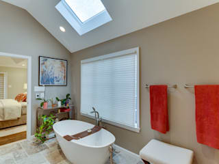 Universal Design Master Suite Renovation in McLean, VA Minimalist style bathroom by BOWA - Design Build Experts Minimalist