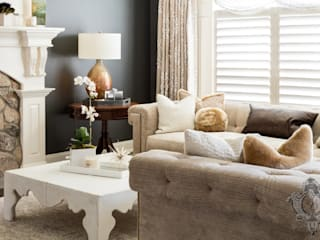 Kellie Burke Interiors Modern living room