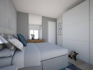 Duplex Ifara Dormitorios de estilo moderno de Abaco Decoración Moderno