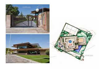 Casa unifamiliar en El Zorongo, Zaragoza Casas de estilo moderno de gArchanco Moderno