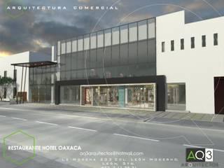 Restaurante Hotel Oaxaca: Casas de estilo  por AQ3 Arquitectos