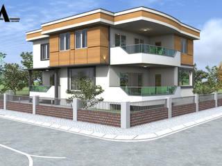Maisons modernes par alfa mimarlık Moderne