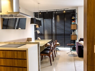 Cozinha e Jantar: Salas de jantar  por Geraldo Brognoli Ludwich Arquitetura