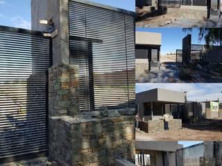 Portal Acceso Loteo: Casas de estilo  por Estudio Karduner Arquitectura