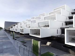 Facultad de Arquitectura: Oficinas de estilo  por ARCHITECTS, Minimalista