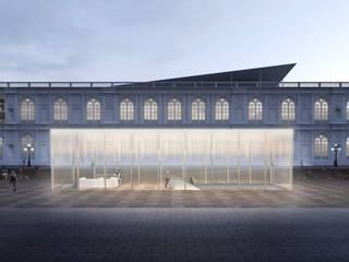 Concurso Museo Arte Contemporáneo: Salas / recibidores de estilo  por ARCHITECTS, Minimalista