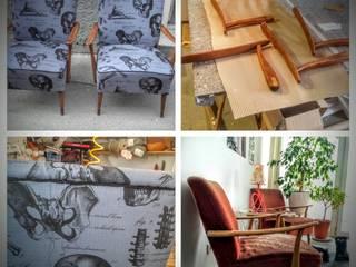 Skelett Sessel: modern  von Raumausstatter Vock,Modern