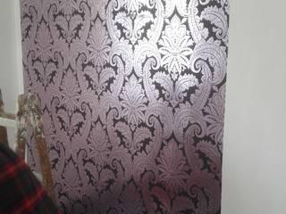 Tapeten- Akzentwand Ausgefallene Wohnzimmer von Raumausstatter Vock Ausgefallen
