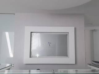 Modern Study Room and Home Office by Savignano Design Modern