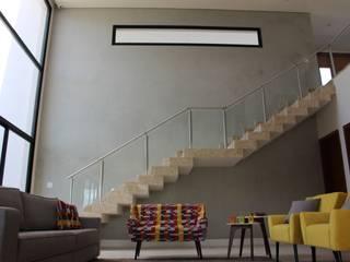 Residência Condomínio Lagos - Itupeva Salas de estar modernas por Araujo Moraes Engenharia Arquitetura Moderno