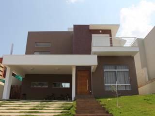 Residência Condomínio Reserva da Serra - Jundiaí Casas modernas por Araujo Moraes Engenharia Arquitetura Moderno