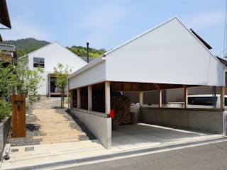 田中町の家 / House in tanaka-cyo アトリエセッテン一級建築士事務所 オリジナルな 家 金属 白色