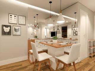SALA: Salas de jantar  por Patricia Moreno A R Q U I T E T U R A