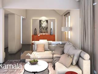 Salas de estilo minimalista de Kamala Interior Minimalista