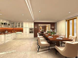 クラシックデザインの キッチン の Kamala Interior クラシック