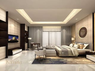 Modern style bedroom by Kamala Interior Modern