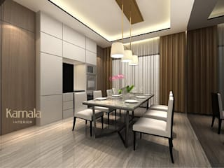 Modern dining room by Kamala Interior Modern