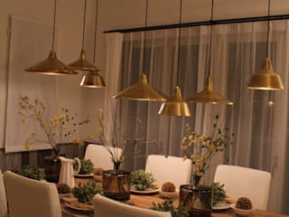コト Dining roomLighting Copper/Bronze/Brass Amber/Gold