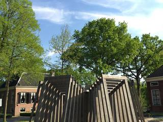 Folly De Swoaistee:  Exhibitieruimten door Huting & De Hoop