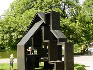 Folly Noorderzon:  Exhibitieruimten door Huting & De Hoop