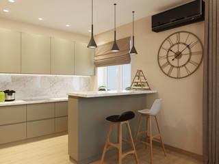 Cozinhas minimalistas por Дизайн Студия 33 Minimalista