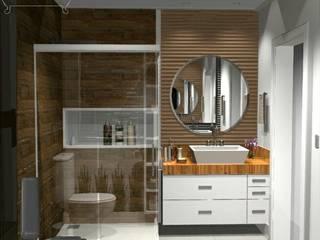 Ванная комната в стиле модерн от Decoropravocê - Decoração ao seu alcance. Модерн