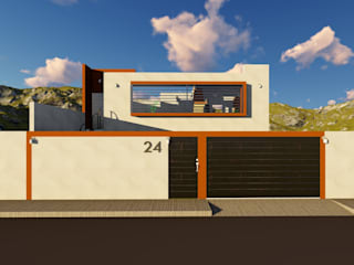 Rumah Minimalis Oleh OmaHaus Arquitectos Minimalis
