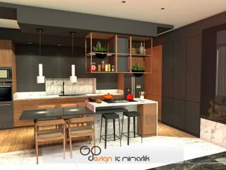 GO Design İç Mimarlık – N.D. Koşuyolu Villa Projesi:  tarz Mutfak