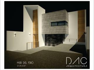 CASA MAR DEL FRÍO: Casas de estilo  por DAC arquitectura