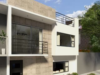 Maisons modernes par DAC arquitectura Moderne