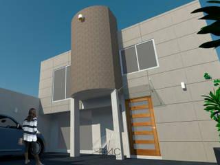 CASA XIMENA: Casas de estilo  por DAC arquitectura