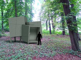 Folly De Hermitage Moderne exhibitieruimten van Huting & De Hoop Modern