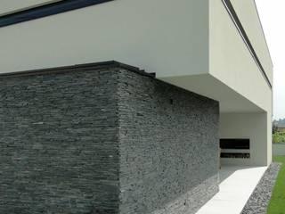 casa JL: Casas  por arquitetura.501,Minimalista Ardósia