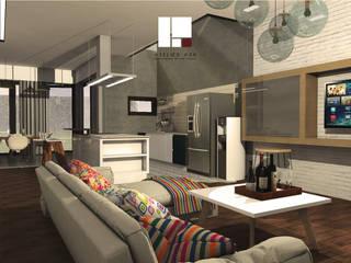 G House:  Ruang Keluarga by Atelier Ara