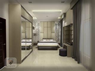 Interior SPATIUM BedroomBeds & headboards Bahan Sintetis Wood effect
