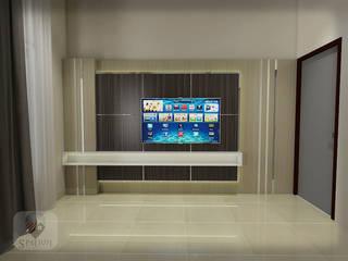 Interior SPATIUM BedroomAccessories & decoration Bahan Sintetis Brown