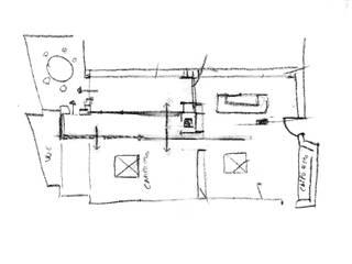 por CORFONE + PARTNERS studios for urban architecture Moderno